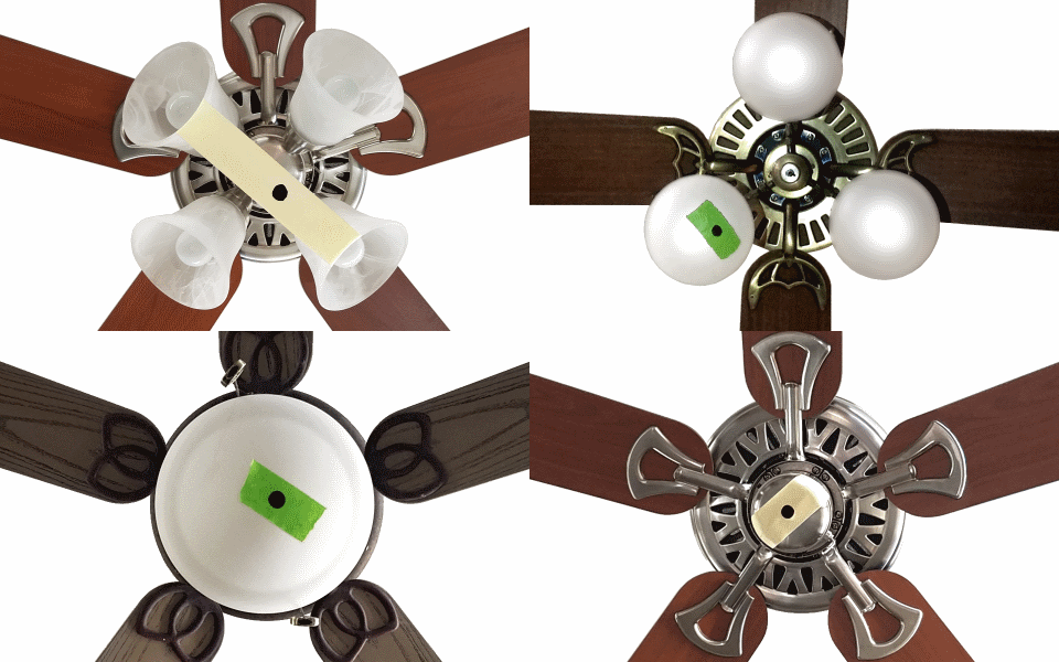 How To Remove The Wobble From That Ceiling Fan Using An